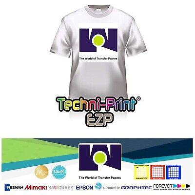 Laser Transfer Paper Techniprint Ezp 8.5x11 25 Sheets For Lights