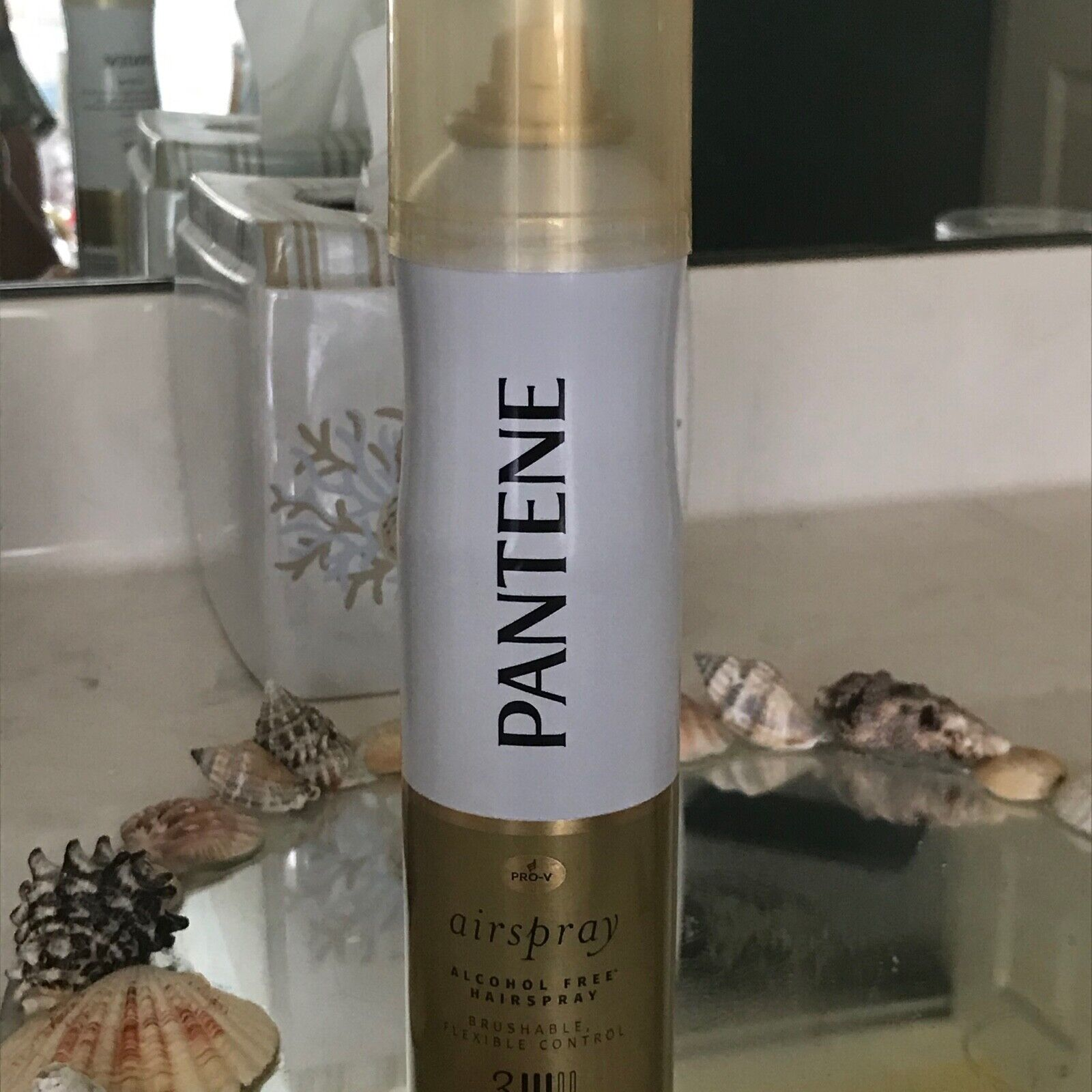 PANTENE AIR SPRAY ALCOHOL FREE HAIRSPRAY 3 BRUSHABLE 7oz NEW
