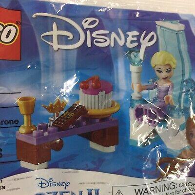 Lego30553 Disney Frozen 2Elsa's Winter Throne New in Sealed Polybag 42 pcs