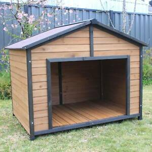 Twin Dog Double Kennel Extra Extra Large Pet Puppy House Home Syd PetJ