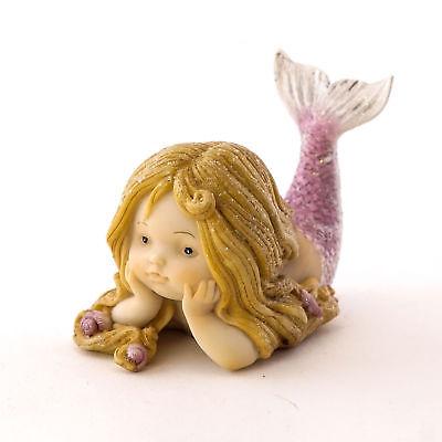 Little Mermaid Laying TO 4675 Miniature Fairy Garden