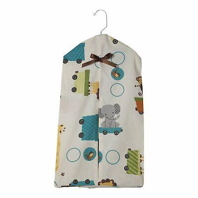 Bedtime Originals Choo Choo Animal Train Print Diaper Stacker