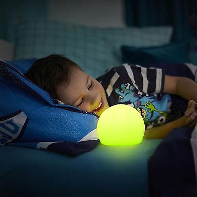 Auto Changing LED Glow Ball Waterproof Mood Light Soft Night Lights with Remote - Glow Night Light With Glow Balls
