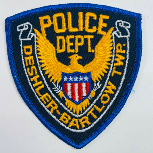Deshler Bartlow Township Police Ohio OH Patch (B3)