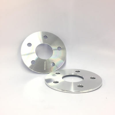 """2X Hub Centric Wheel Spacers Adapters 5X115 ¦ 14X1.5 ¦ 3MM 3/32"""" Thick For Dodge"""