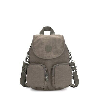 Kipling Small Backpack Shoulder Bag Firefly UP SEAGRASS Green HOL19  RRP £87