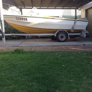 5.1 metre runabout  85 hp Johnson fibreglass Primbee Wollongong Area Preview