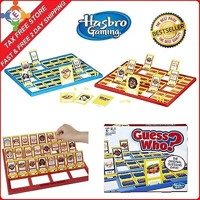 Hasbro Classic Guess Who Board Game Try To Guess Kids   Adults Family Fun Fr All