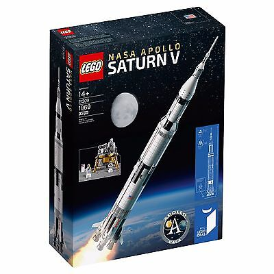 LEGO Ideas NASA Apollo Saturn V (21309) - Brand New & In Hand To Ship