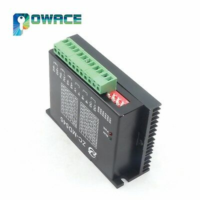 Zc-md545 Professional Stepper Motor Driver 5a 2 Phase Cnc Stepping Motor Driver