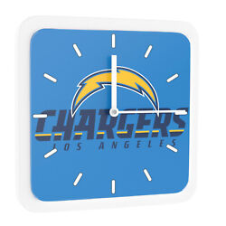 New 3 in 1 NFL Los Angeles Chargers Home Office Decor Wall Desk Magnet Clock 6