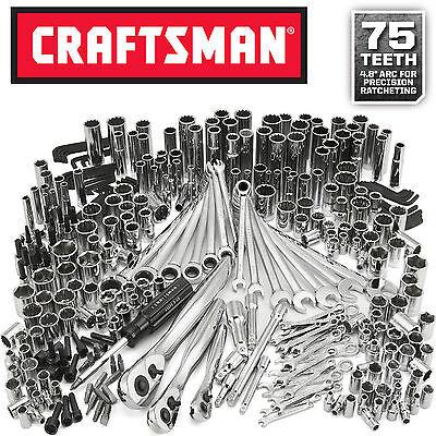 Craftsman 311 pc Mechanics Tool Set 53311 Ratcheting Combination Wrenches 334