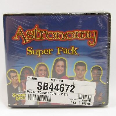 Astronomy Super Pack DVD Box Set Standard Deviants School Set of 6 dvd's NEW Standard Dvd-box