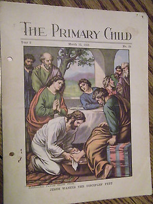 THE PRIMARY CHILD MARCH 12 1933 YEAR 3 INTERNATIONAL PRIMARY GRADED SERIES