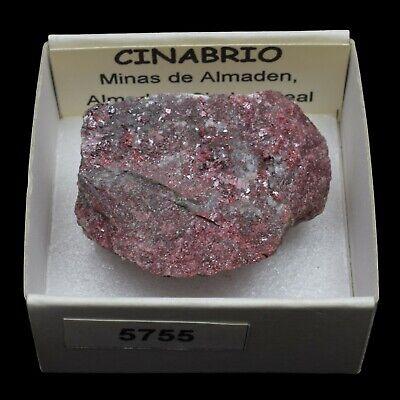CINABRIO (Minas de Almaden, Almaden, Ciudad Real) #5755 / Cinnabar