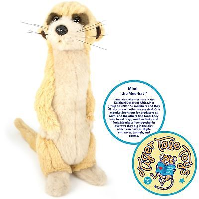 - Mimi the Meerkat | 12 Inch Stuffed Animal Plush | By Tiger Tale Toys