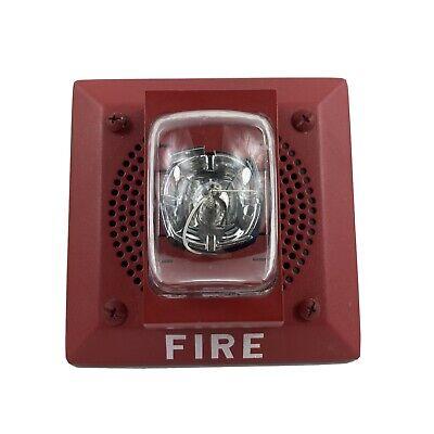 Siemens Model S-hpmg-mcs Speaker With Strobe Fire Alarm
