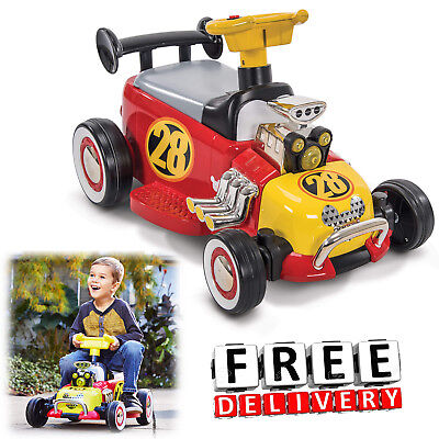 Battery Powered Car Kids Ride On Toy 6V Electric Truck Disney Mickey Vehicle New