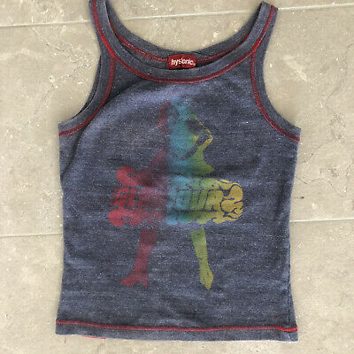 Vintage Hysteric Glamour Graphic Rainbow T-shirt