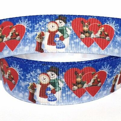 Family Ribbon - GROSGRAIN RIBBON 7/8