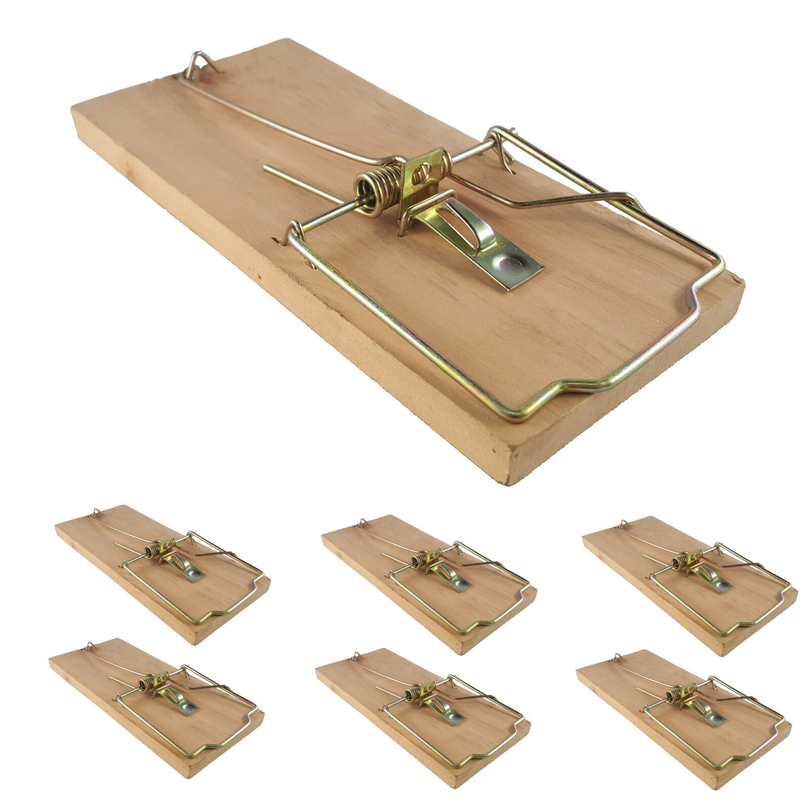 4x Extra Large Heavy Duty Quality Rat Trap Reusable Catching Mouse Rodent Pest