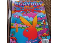 2000 Playboy Magazine Playmate Bernaola Twins Collector Poster 20X36 OOP    00BE