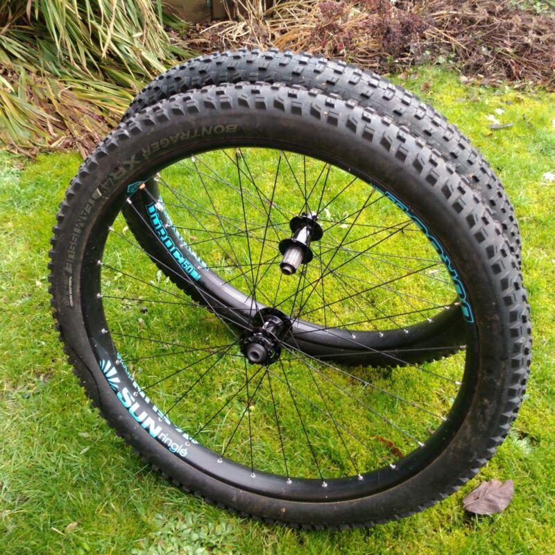 Sun Ringle Duroc 50mm Wheelset | Boost | 29Plus+ | Bontrager | Tubeless | Stooge