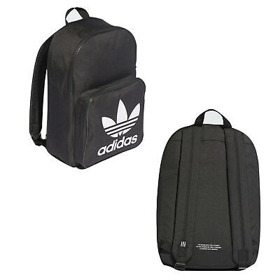 Adidas Originals Classics Trefoil Backpack Unisex Bag Black DW5185