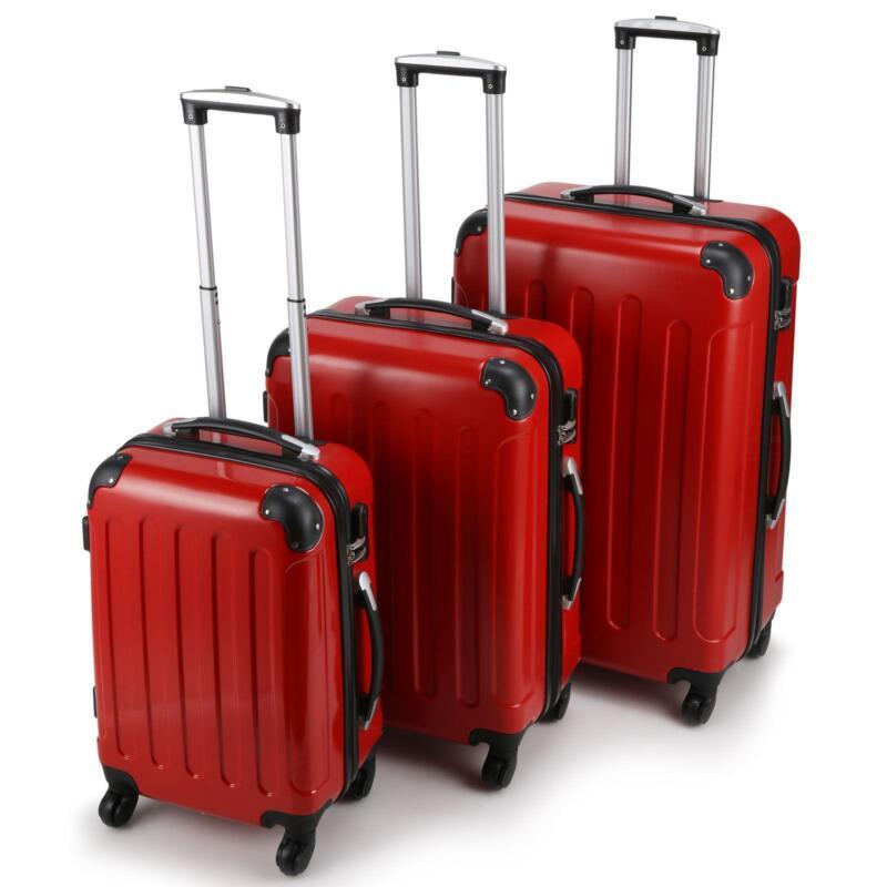 4 wheel large suitcase ebay. Black Bedroom Furniture Sets. Home Design Ideas