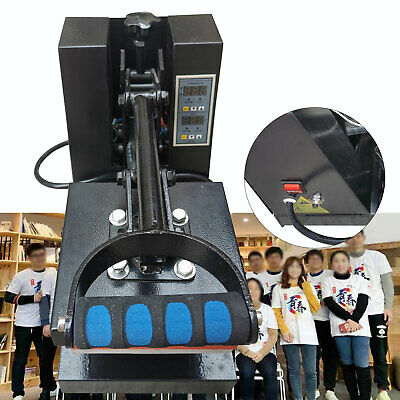Compact Heat Transfer Equipment Small Heat Press Machine 15cm15cm 110v Usa