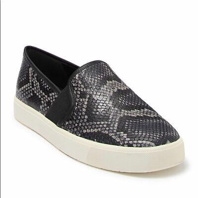 NWT vince snakeskin blair 5 slip on sneakers
