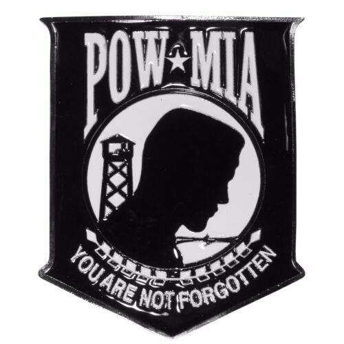 pow mia you are not forgotten metal trailer hitch cover