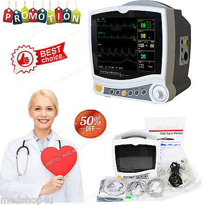 Brand New Contec Cms6800 Portable Patient Monitor Multiparameter Icu15 Language