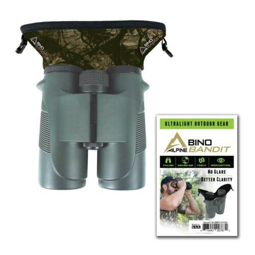 NEW Alpine Innovations Bino Bandit Stealth Tan Camo Binocular Eye Shield D26