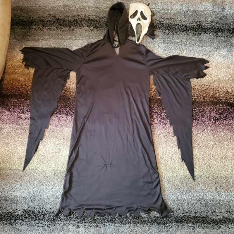 VTG Scream Ghostface Halloween Mask Kids Costume Easter Unlimited Fun World Div