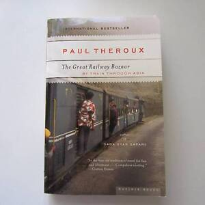 The Great railway Bazaar by Paul Theroux Carlton Melbourne City Preview