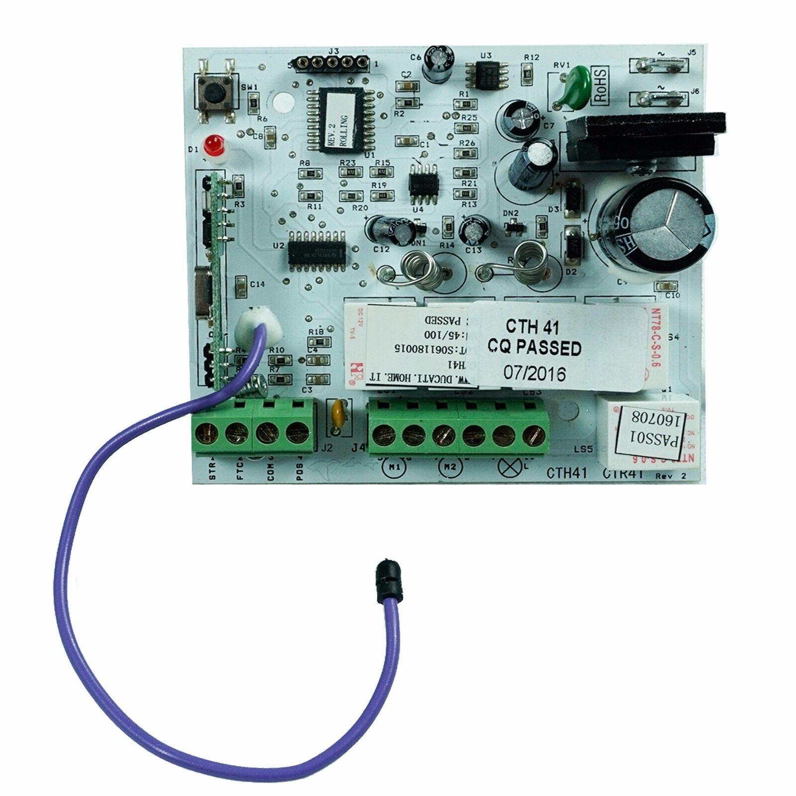 DUCATI CTH41 Centralina elettronica per cancelli a doppia anta battente