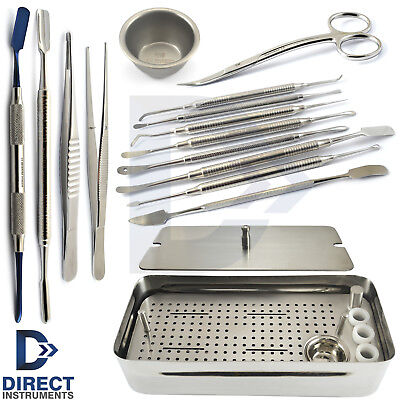 Dental Prf Grf System Box Instruments Kit Platelet Rich Fibrin Implant Surgery