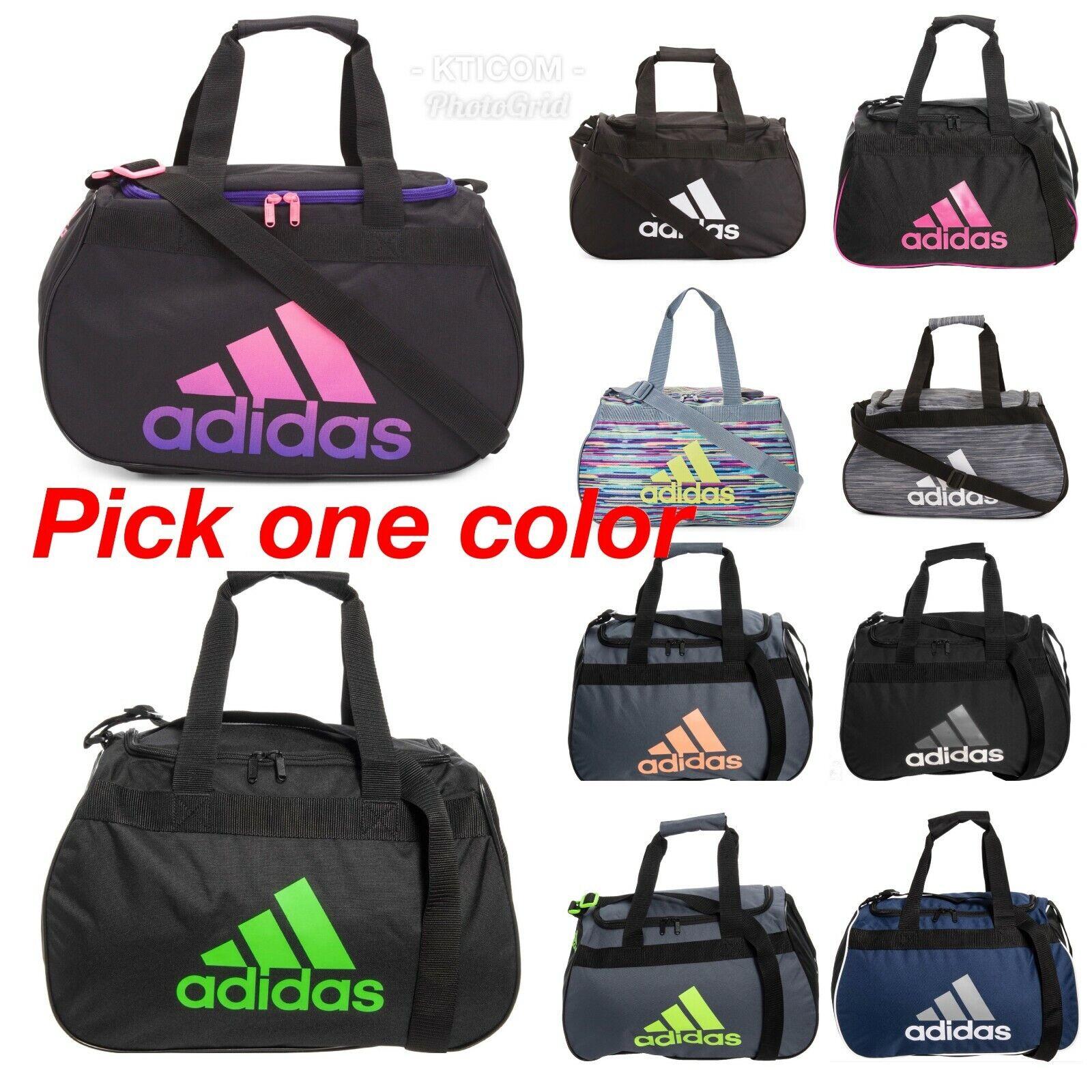 NWT ADIDAS Diablo Small Duffel Gym Bag/Travel Bag --Pick Col