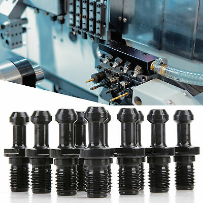 10pcsset Cat40-45 Degree Crmnti Pull Studs For Haas Cnc Machine Milling Tool