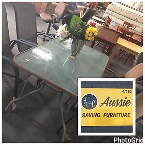 GREAT VALUE!! OUTDOOR DINING SET, TABLE + 4 CHAIRS! Osborne Park Stirling Area Preview