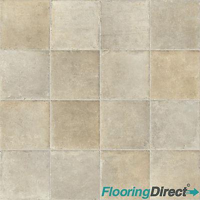 Tile stone effect vinyl flooring kitchen bathroom cheap for Lino flooring tile effect