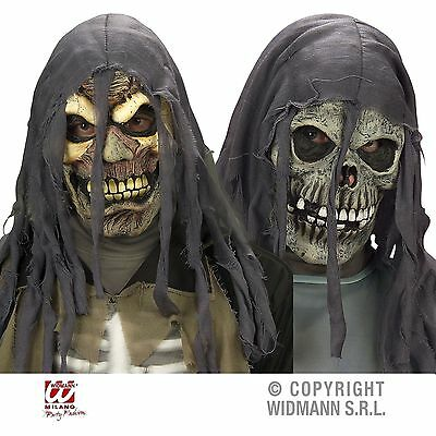 Latexmaske Erwachsene Horror Zombie / Totenkopf Kapuze Maske Halloween Karneval (Totenkopf Halloween)