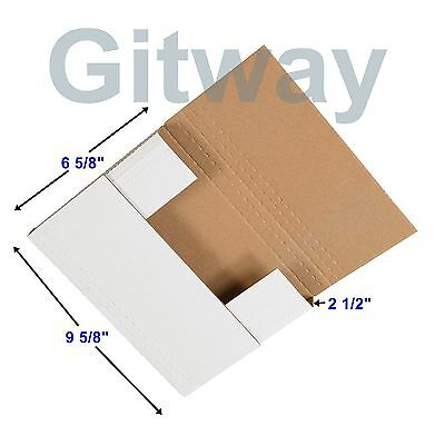 50 - 9 58 X 6 58 X 2 12 Multi Depth Cardboard Book Mailer Shipping Box Boxes