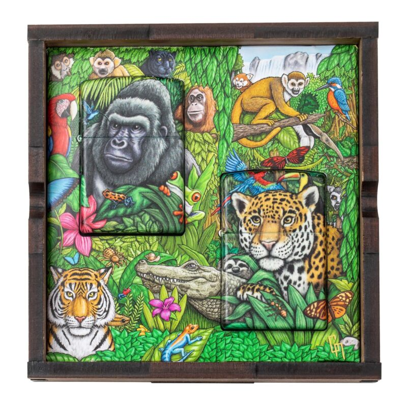 Zippo Mysteries of the Forest - 25th Anniversary Collectible, 49347