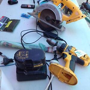 dewalt 18 volt drill and saw plus charger Beenleigh Logan Area Preview