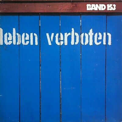 Band 153 Leben Verboten 1985 GERMAN XIAN DISCO SOUL Pila Music ‎20.129 - USED LP