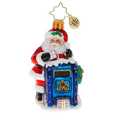 [NEW Christopher Radko DEAR SANTA Christmas Ornament 1020230 Little Gem</Title]