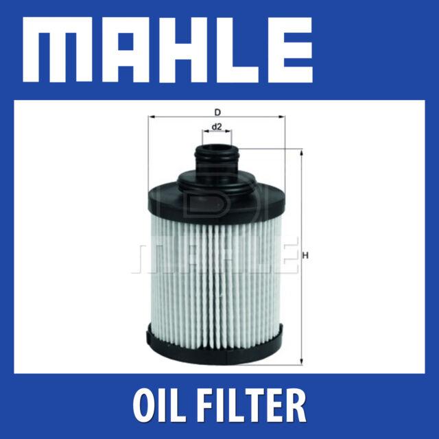 Mahle Oil Filter OX418D - Fits Fiat Punto, Vauxhall Corsa - Genuine Part