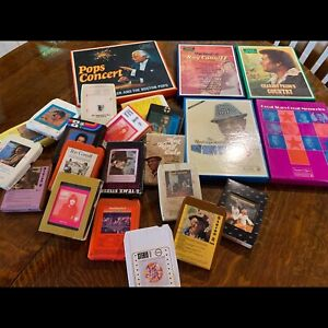 8 track tapes